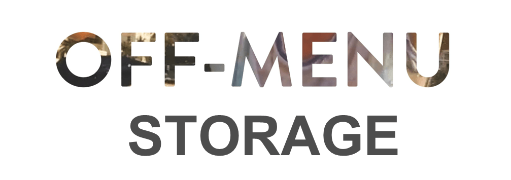 I'll Have the Off-Menu Storage, Please